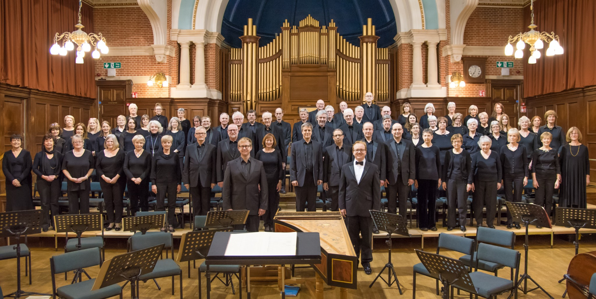 Wokingham Choral Society, 2017 (click for larger picture)